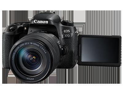 Ausrüstung Canon EOS 77D