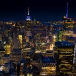 New York - Ausblicke  auf Manhattan von oben